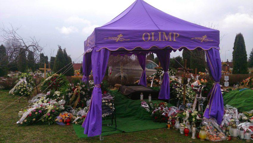usługi pogrzebowe Olimp
