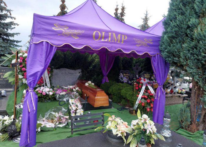 pogrzeby Olimp