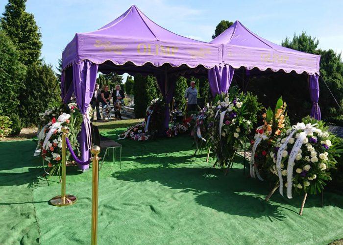 pogrzeb w Strzelinie